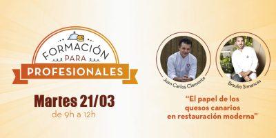 TALLER GASTRONÓMICO CON BRAULIO SIMANCAS Y JUAN CARLOS CLEMENTE