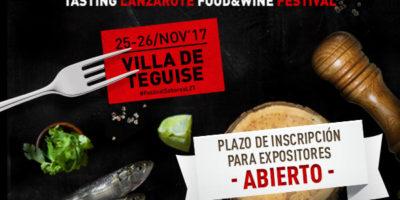 Abierto el plazo de inscripción para expositores del VII Festival Enogastronómico Saborea Lanzarote
