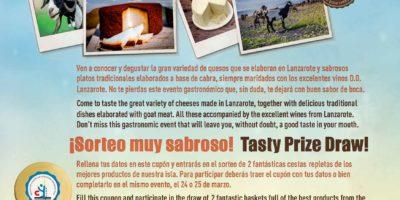 Novedades en el programa de la Feria del Queso y la Cabra Saborea Lanzarote
