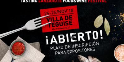 Abierto el plazo de inscripción de expositores al VIII Festival Enogastronómico Saborea Lanzarote