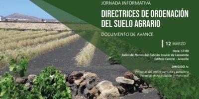 El Cabildo acoge una jornada informativa para analizar las Directrices de Ordenación del Suelo Agrario