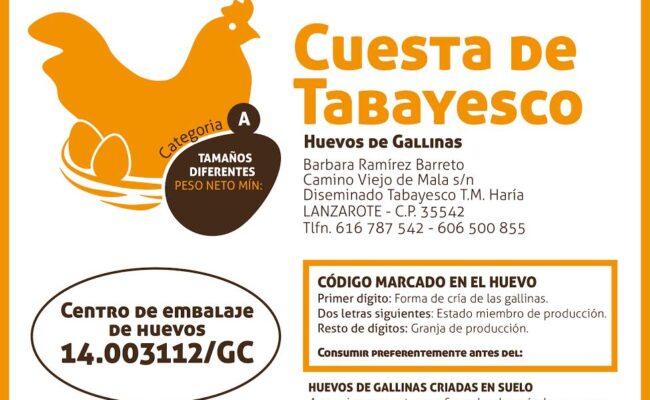 FOTO CUESTA DE TABAYESCO