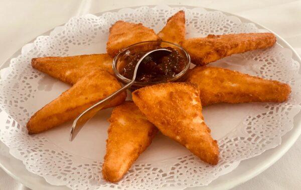 Fried cheese La Lapa Negra
