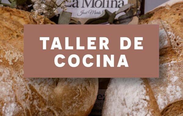Taller: masa artesanal de Pizza & crepees dulces